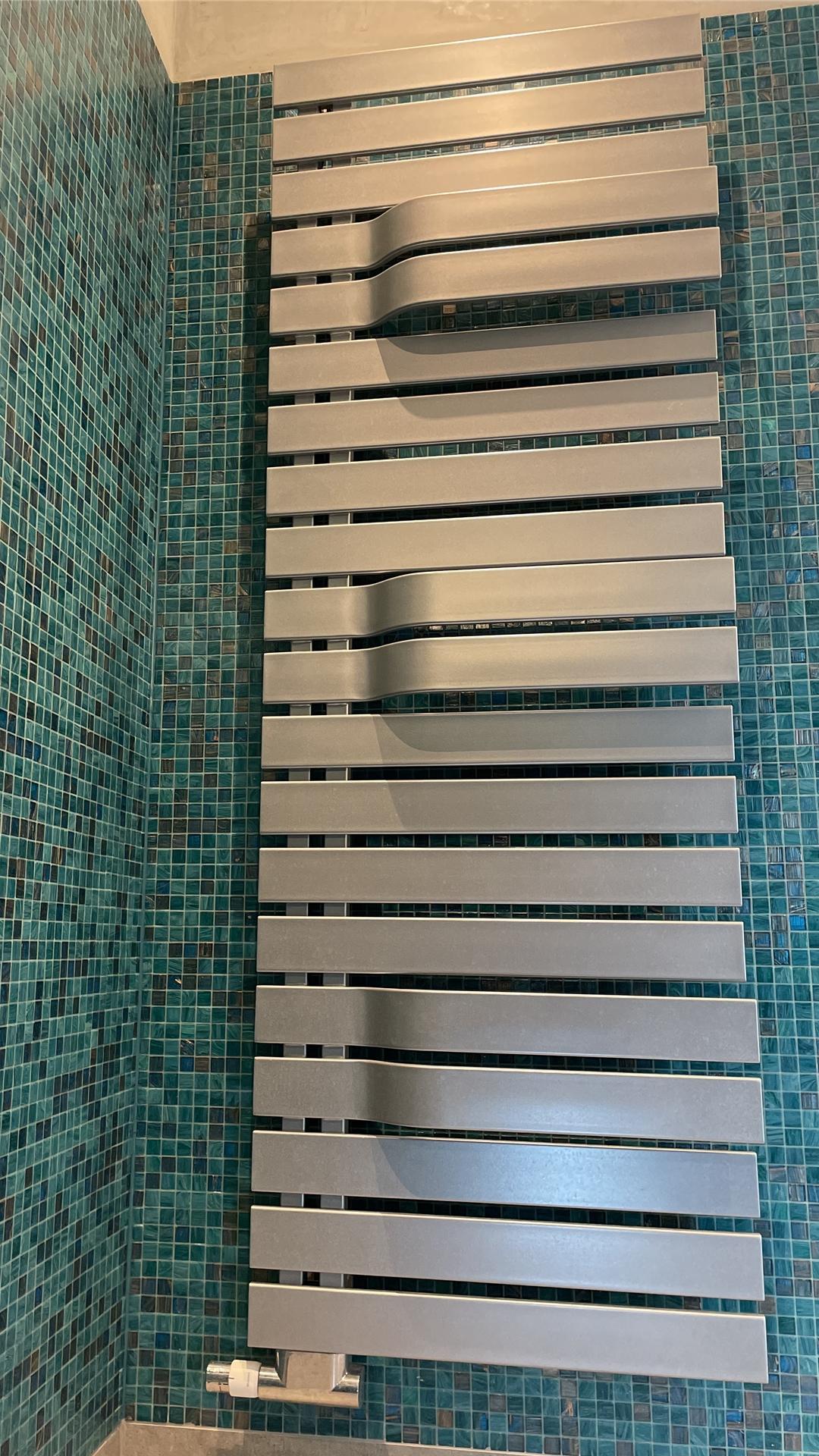 Designheizkörper in einem Bad in Dorsten