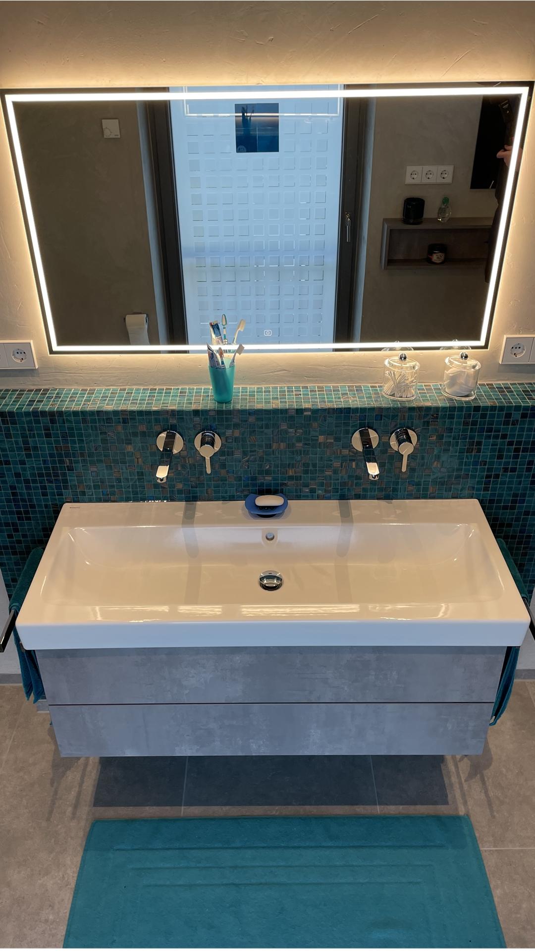 Waschtischanlage in einem Bad in Dorsten